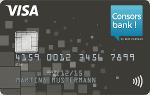 Consorsbank-Visa Classic Karte
