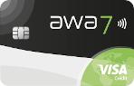 awa7® Visa Karte