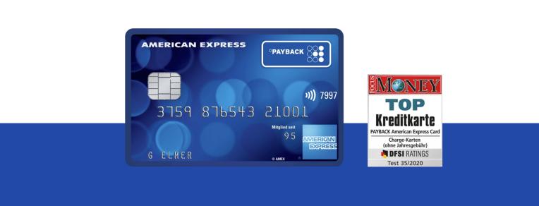 Sicheres bezahlen mit der Payback American Express
