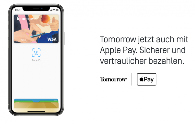 Apple Pay bei Tomorrow