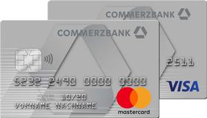 Commerzbank Mastercard und Visa Card ClassicKreditkarte