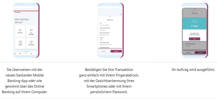 Santander Onlinebanking App