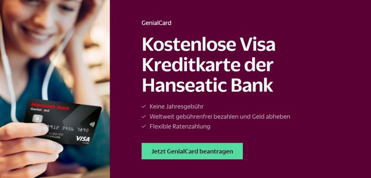 Hanseatic Bank Kostenlose Kreditkarte