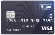 Hilton Honors Visa Card