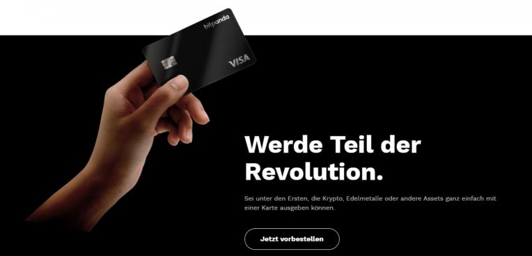 Die Bitpanda Card Vorbestellen