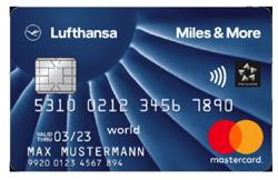 Miles & More Blue Kreditkarte