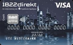 1822direkt Visa Classic Kreditkarte im Test