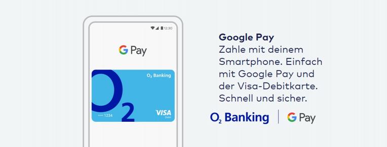 o2 Banking Google Pay