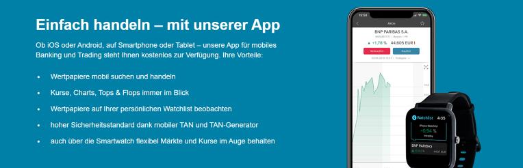Consorsbank Trader App